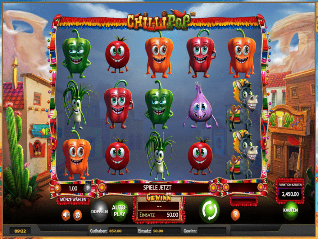 Ikibu Casino Chili Pop Screenshot