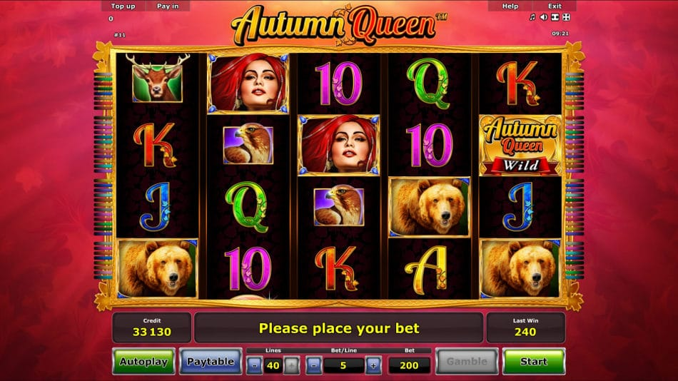 Autumn Queen Slot